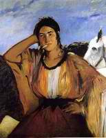 gypsy-with-sigarette-by-manet